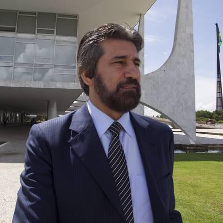 O senador Valdir Raupp (PMDB-RO). Foto: André Coelho / Arquivo O Globo 07/03/2014