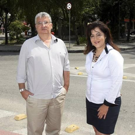 Acibarrinha. Eduardo Valeriano e Dayse Góis reuniram os pleitos Foto: Agência O Globo / Luiz Ackermann