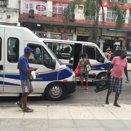 Vans circulam em São Gonçalo Foto: Divulgação