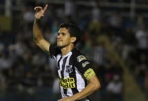 Magno Alves está de volta ao Fluminense depois de 13 anos Foto: Divulgação/Ceará