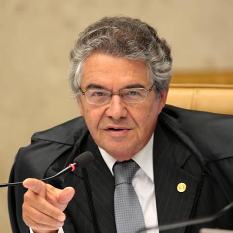Ministro do STF Marco Aurélio Mello Foto: Carlos Humberto / Arquivo O Globo 10/09/2013
