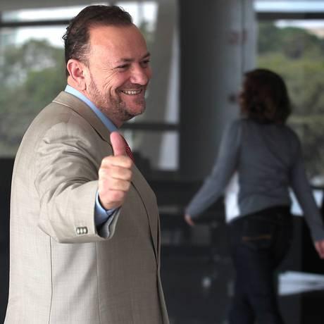 O ministro da Comunicação Social, Edinho Silva Foto: Jorge William / Agência O Globo