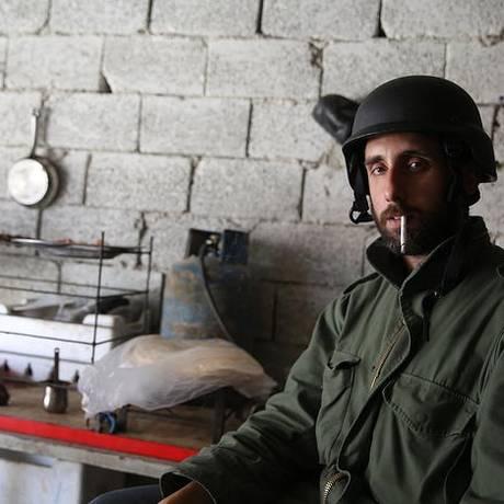 Gabriel Chaim: especializado em cobertura de zonas em conflito, o brasileiro foi detido ao regressar da Síria à Turquia Foto: Gabriel Chaim