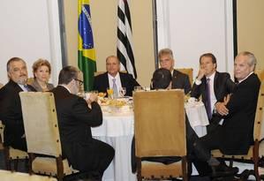 Geraldo Alckmin convidou nesta manhã a senadora para um café da manhã no Palácio dos Bandeirantes Foto: Divulgação
