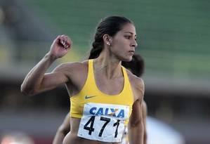 Ana Cláudia Lemos da Silva: uma das titulares do 4x100m brasileiro Foto: Divulgação