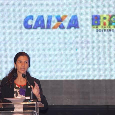 Maria Fernanda Coelho, ex-presidente da Caixa Foto: Renato Araújo / ABr