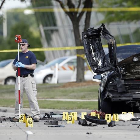 Ataque frustrado em Garland foi ação de radicais islâmicos Foto: Brandon Wade / AP