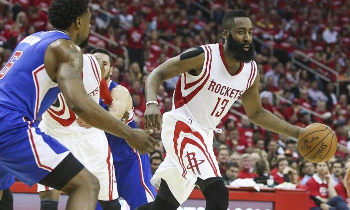 James Harden, astro do Houston Rockets Foto: Troy Taormina-USA TODAY Sports