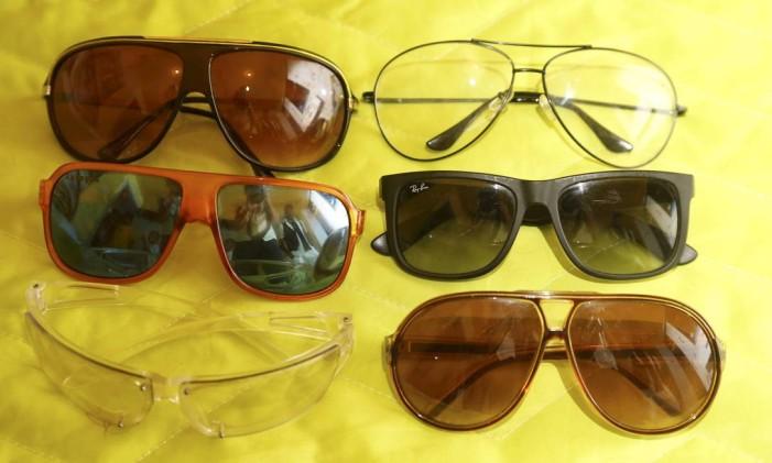 Cuidados ao comprar óculos escuros Foto: Camilla Maia / Agência O Globo