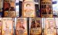 Folhetos contra petistas foram afixados em postes da capital paulista