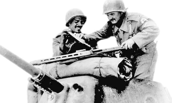 Soldados brasileiros na campanha na Itália, Segunda Guerra Mundial Foto: Divulgação/ Museu Capitão Pitaluga