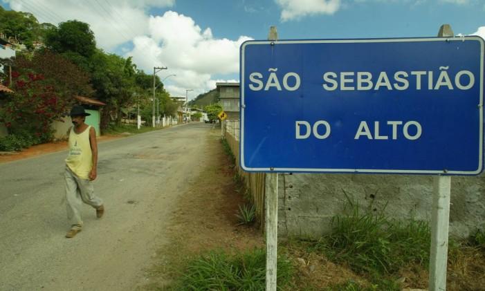 A cidade fica na Região Serrana do estado Foto: Carlos Ivan / Agência O Globo