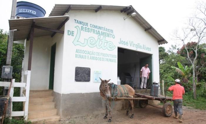 Economia acanhada: município sofre com o êxodo de moradores Foto: Eduardo Naddar / Agência O Globo