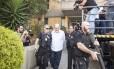 João Vaccari Neto ao ser preso pela Polícia Federal, em abril deste ano