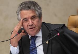 O ministro do STF, Marco Aurélio de Mello Foto: André Coelho/12-9-2013
