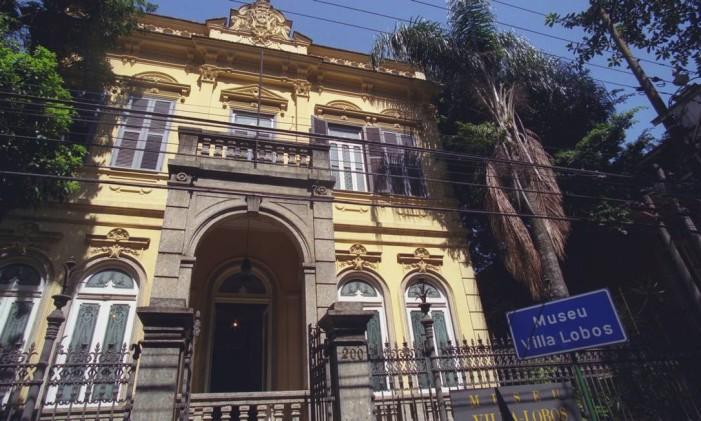 Museu Villa-Lobos Foto: André Teixeira / O Globo