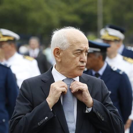 Ministro do Trabalho, Manoel Dias, participa de evento militar Foto: Pablo Jacob / Agência O Globo