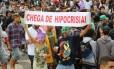 Marcha da Maconha: Manifestação, que reuniu dezenas de pessoas em 2014, será hoje, às 14h20m, em Ipanema