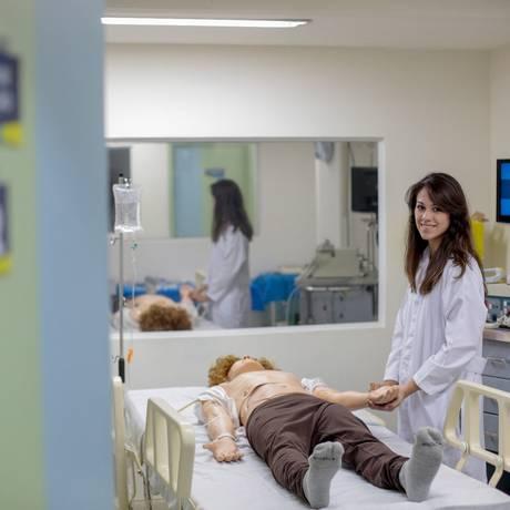 Mariana Negri é estudante de medicina Foto: Pedro Kirilos