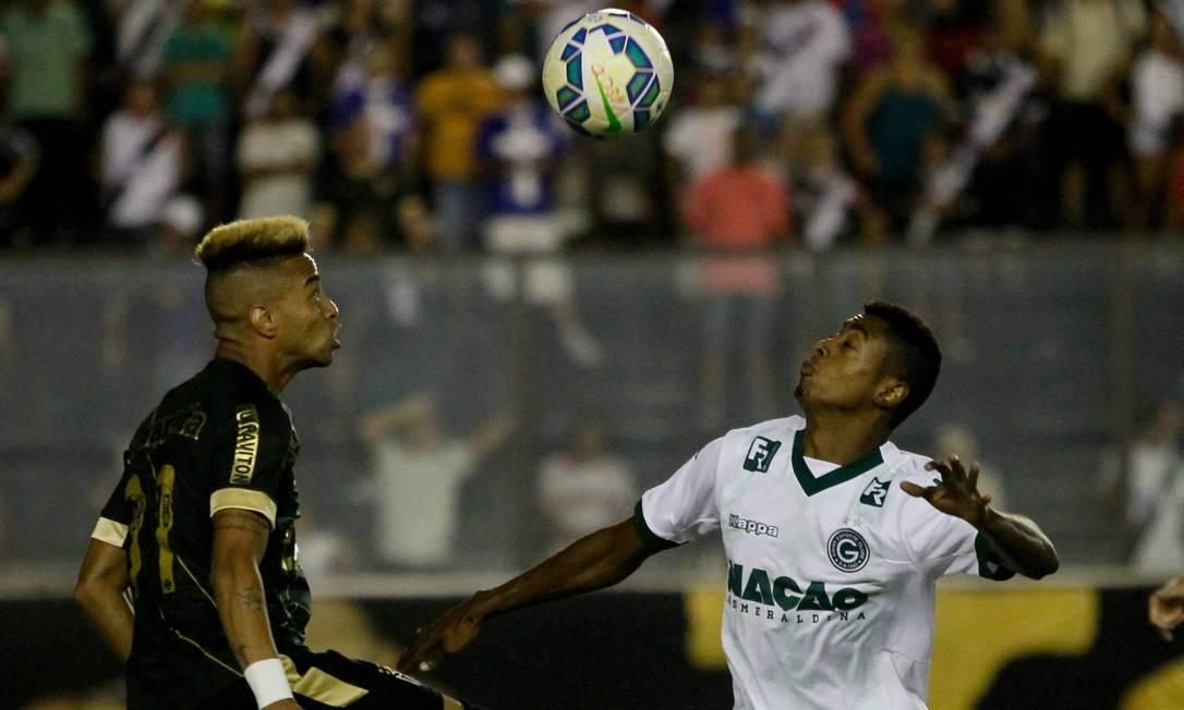 O Vasco estreia no Brasileiro de 2015, de volta à Série A, jogando em casa contra o Goiás Pedro Kirilos / Agência O Globo
