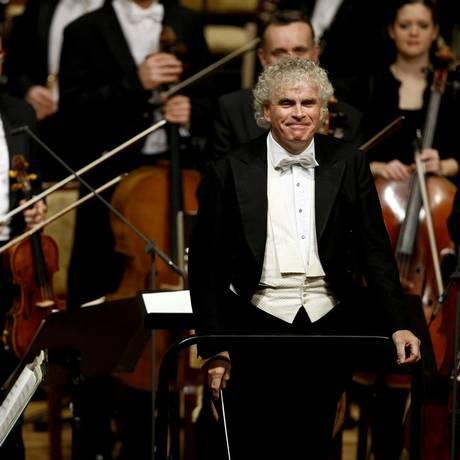 O maestro deixará a Filarmônica em 2018 Foto: - / AFP