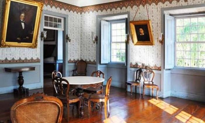 Interior do Museu Casa da Hera Foto: Douglas Montes / Divulgação / Secretaria estadual de Cultura