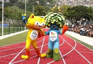 Mascotes dos Jogos Olímpicos de 2016 Foto: Ivo Gonzalez / O Globo
