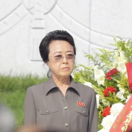 Kim Kyong-hui teria caído em desgraça com ditador norte-coreano Foto: KCNA