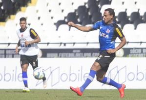 Marcinho treina como titular em São Januário Foto: Divulgação/Vasco.com.br