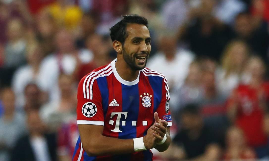 A festa de Benatia: zagueiro do Bayern deixou o dele contra o Barcelona Michaela Rehle / REUTERS