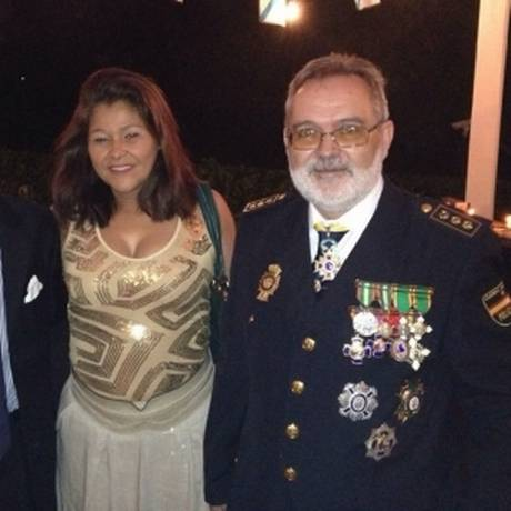 Jesús Figón Leo matou a mulher Rosemary Justino Lopes no apartamento do casal em Vitória (ES) Foto: Reprodução Facebook