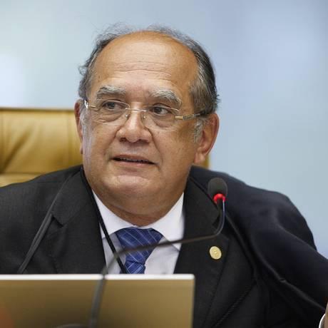 O ministro Gilmar Mendes Foto: Nelson Jr. / Arquivo O Globo 27/02/2014