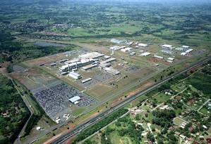 Vista aérea da unidade de Gravataí da GM Foto: Divulgação