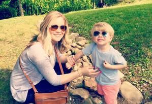 Tawny tem um filho de dois anos Foto: Reprodução/Facebook