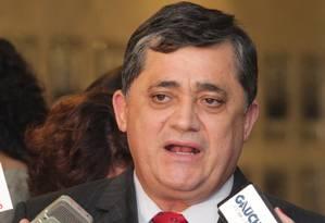 O líder da bancada do PT na Câmara, deputado José Guimarães (CE) Foto: Givaldo Barbosa / Agência O Globo