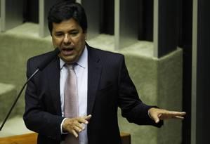 O líder do DEM na Câmara, Mendonça Filho (PE) Foto: Jorge William / O Globo