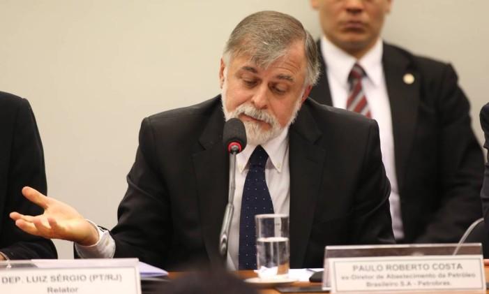 O ex-diretor de Abastecimento da Petrobras Paulo Roberto Costa. Foto: Ailton de Freitas / Agência O Globo
