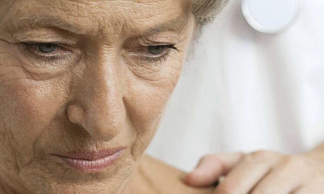 Sintomas de depressão causam derrame, principalmente em mulheres Foto: / Arquivo