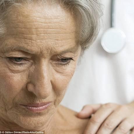 Sintomas de depressão causam derrame, principalmente em mulheres Foto: Arquivo