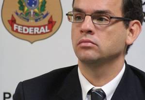 Procurador da República Frederico de Carvalho Paiva, responsável pelas investigações da Operação Zelotes Foto: Charles Sholl / O Globo/26-3-2015