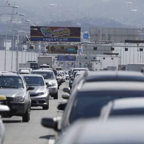 A Ecoponte, do grupo Ecorodovias, será a nova concessionária a administrar a via. Foto: Pablo Jacob / Agência O Globo