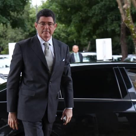 O ministro da Fazenda Joaquim Levy Foto: Ailton de Freitas / Agência O Globo/11-5-2015