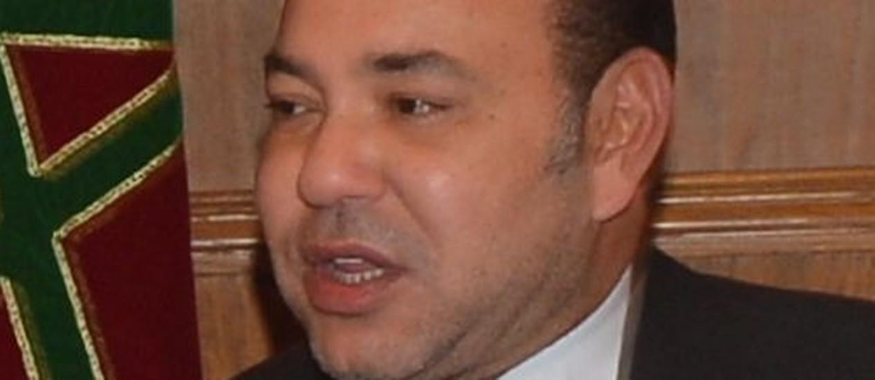 Rei Mohammed VI. Medida do monarca para frear a poligamia evitou conflitos com as escrituras corânicas Foto: US State Department / Wikimedia Commons