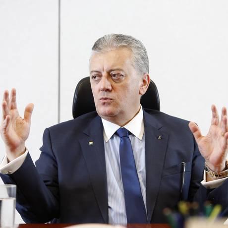 Presidente da Petrobras Aldemir Bendine Foto: Marcelo Carnaval / Agência O Globo