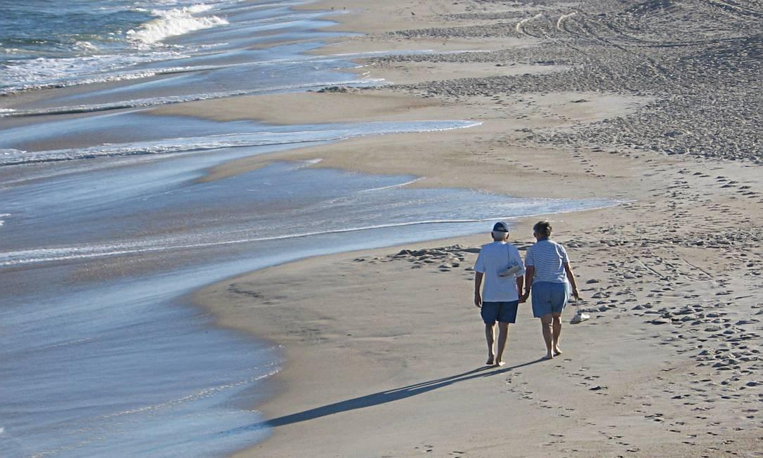 Caminhada: risco de morte 40% menor Foto: FreeImages