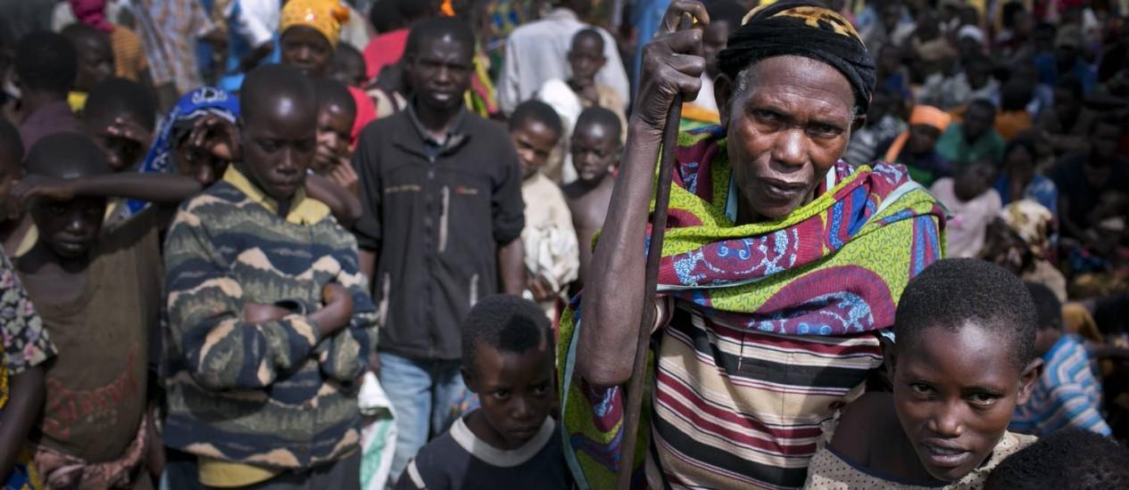 Refugiados do Burundi chegam ao campo de Mahama Foto: KATE HOLT / Acnur