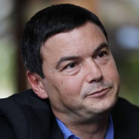 O economista francês Thomas Piketty em visita ao Brasil Foto: Michel Filho/ 27-11-2014 / Agência O Globo