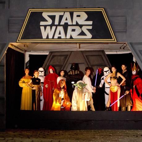 Barra World. Espetáculo 'Star Wars' é um dos destaques Foto: Bia Guedes / Agência O Globo