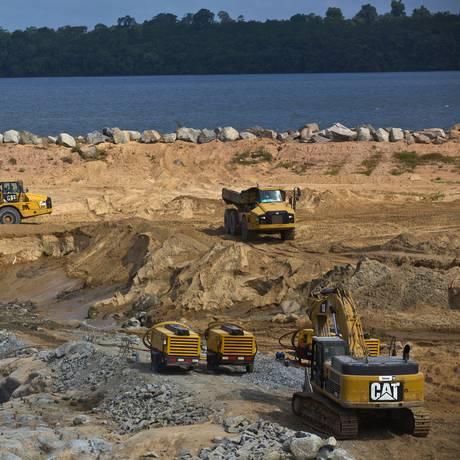 Na região Norte, desaceleração de obras do setor hidrelétrico afetou o resultado Foto: Dado Galdieri / Bloomberg