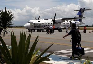 Costa do Sol. O aeroporto regional de Cabo Frio, no Rio, já é administrado pela iniciativa privada Foto: Marcos Tristão / Agência O Globo